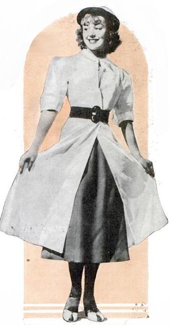 Modern version of linen duster made from hemp.