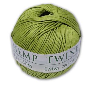 LimeGreen hemp twine